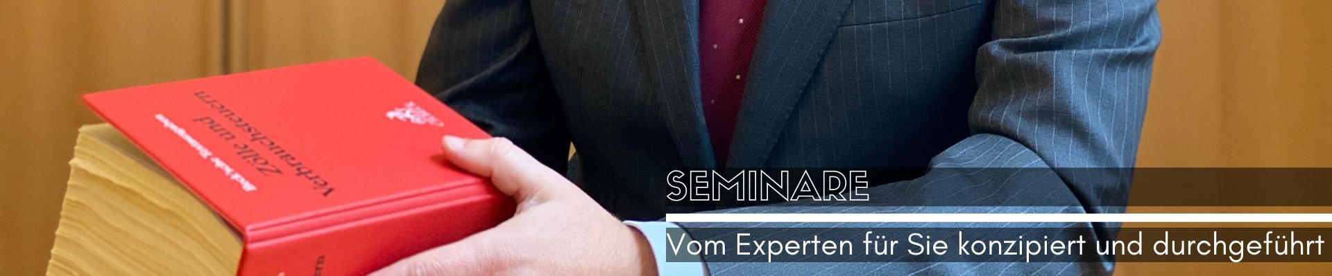 Rechtsanwalt Axel Krause - Seminare